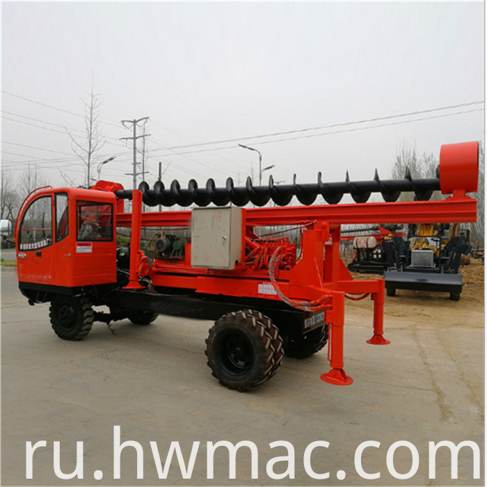 truck mounted pile driver11