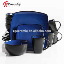 Fabricant en ligne de style chinois Liling set de dîner en céramique pour l'utilisation du restaurant hôtelier