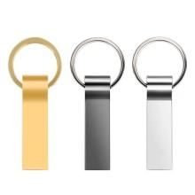 Wasserdichtes Metall Silber mit Schlüsselring Memory Disk