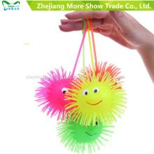 Новинка красочные йо-йо загораются фугу мяч детские игрушки