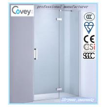 Cuarto de baño de cristal templado pantalla de la ducha con Ce / SGCC / CCC (A-KW06-D)