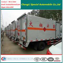 Right Hand Drive 5tons hydraulische Rücklicht Van Box Truck