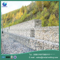 welded mesh stone cages and weaving gabion walls