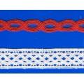 Chemical lace /Trimming dentelle de lingerie/Lingerie dernière Spandex coupe dentelle