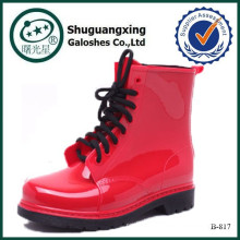 chaussures de bottes femme espagne bottes rouges à talons hauts bootsB-817