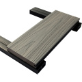 En gros en bois en plastique anti-uv Wpc Co extrudé composite Decking