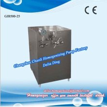High pressure homogenizers