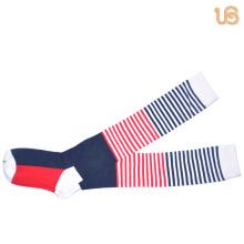 Frauen bunte Kniehohe Socke