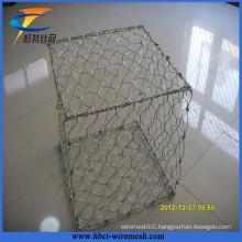 Hot Sale Anping Hexagonal Mesh Galvanized Gabion Box
