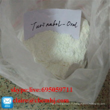 Poudre stéroïde Turinabol / 4-Chlorodehydromethyl Testosterone CAS 2446-23-2