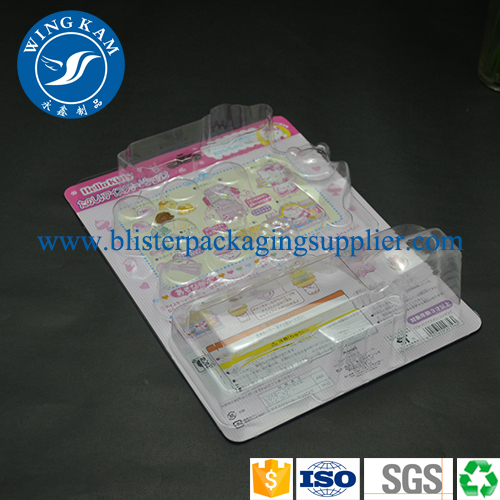 Desechables placa plástica Slide Blister Whosale