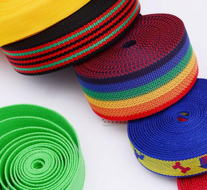 knitted elastic webbing tape