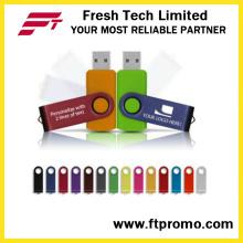 Mejor valorados OEM Promocional regalo giratorio USB Flash Drive (D101)