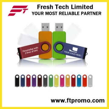 Top-Rated OEM Promocionais Gift Swivel USB Flash Drive (D101)