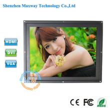 higher brightness 450 to 1500cd/m2 optional 12.1 inch tft LCD monitor