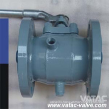 RF Flanged FEP/PTFE/PFA Full Iined Plug Valve with Lever Operated