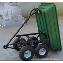 Four Big Wheel Garden Tipping Cart (Tc4701)