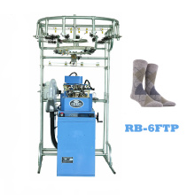 Manufacturer for Single Cylinder  Knitting Machine Automatic pantyhose tights machinery of socks making machine supply to Saint Kitts and Nevis Factories