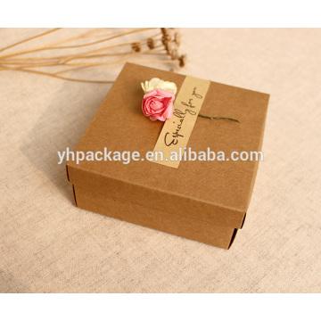 Высокое качества подарочной коробке ручной работы крафт
