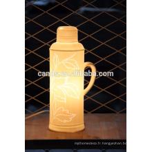 Lampe d'art décorative en céramique