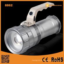Hochleistungs-Wiederaufladbare LED Taschenlampe Lange Strahl LED Wiederaufladbare Taschenlampe