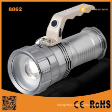 High Power Rechargeable LED Flashlight Long Beam LED Rechargeable Flashlight