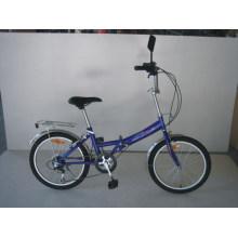 """20 """"bicicleta de dobramento da velocidade do aço 6 (FJ206)"""