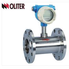 débitmètre de turbine intelligente de marque avec une grande précision