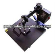 T machine à transfert de chaleur à pression et à vague verticale