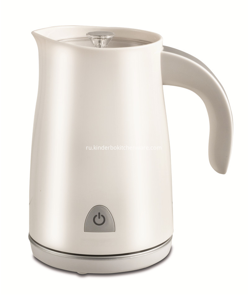 white color milk frother