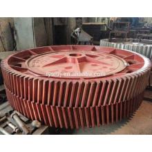 Pignon conique en spirale adapté aux besoins du client de haute précision d'OEM pour la boîte de vitesse