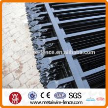 Valla de seguridad de piquete de acero de zinc