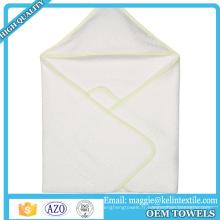 Respectueux de l'environnement organique 70% bambou 30% coton à capuchon bébé serviette bébé capuche serviette de bain