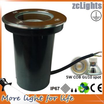 LED GU10 Luz de tierra reemplazable Luz de tierra de 5W LED