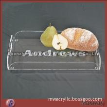 Table Top Clear Acrylic Food/Fruit Tray/Plateau