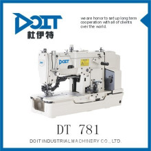 DT781 high speed lockstitch straight button holing sewing machine