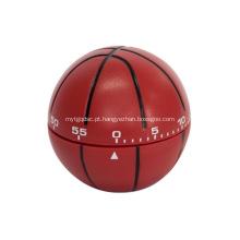 Promocional em forma de basquete em forma de brindes temporizador de cozinha