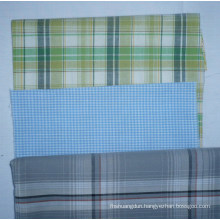 100% Cotton Yarn Dyed Fabric Shirting 40X40/120X80