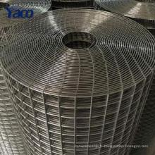"""1/4 """"1/2"""" 3/4 """"1"""" trou SS304 en acier inoxydable soudé vecteur cartographie grille treillis métallique 1x30m"""