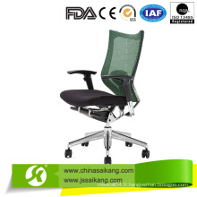 Chaise de bureau de bureau pivotante de luxe Chaise de bureau avec accoudoir ajusté