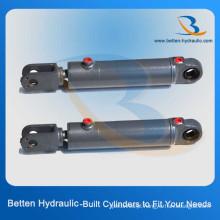 Cilindro hidráulico de aço e aço inoxidável