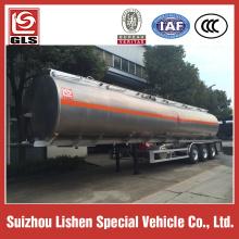 ADR Standard Aluminum fuel tanker trailer 42M3