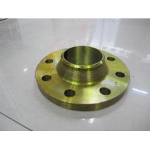 """1/2 """"-48"""" ASME16.5 CLASE 150 WN bronce dorado de acero de pintura"""