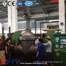 Válvula de entrada de aço de alta pressão de alta pressão Wc6 28inch 600lb