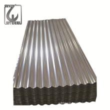 Standard Size Galvanized Corrugated Roofing Sheet Designs