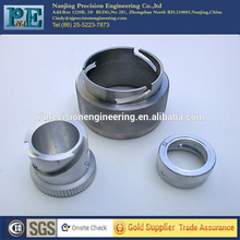 Kundenspezifische CNC-Bearbeitung Aluminium-Buchse für Auto-Teile