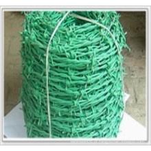 PVC revestido arame farpado / barbear arame farpado (XM3-22)