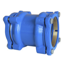 Ductile Iron or Cast Iron Coupling for PE Pipe