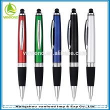 Plástico de venda quente toque notebook de tela stylus pen