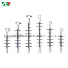High Voltage Long Rod Suspension Composite Insulators Polymer Rubber